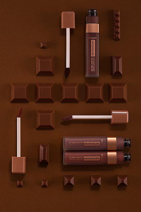 Batom com aroma a chocolate? No mínimo irresistível…