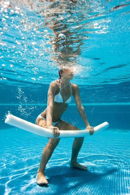 Pilates aquático, o perfeito equilíbrio