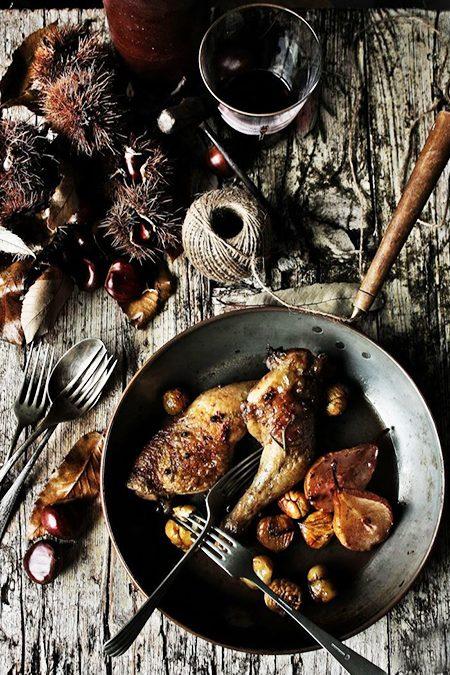 São Martinho: castanhas e vinho