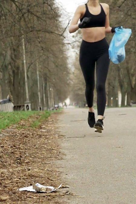 Plogging: ajude o ambiente enquanto corre