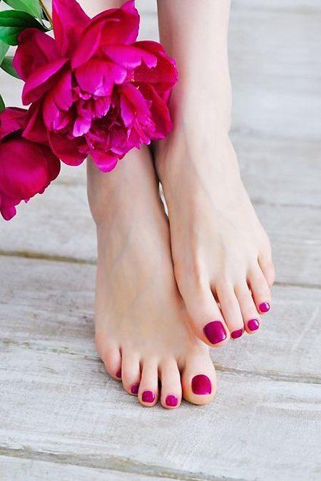 Detox através dos pés